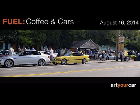 FUEL: Coffee and Cars Cincinnati 8-16-14