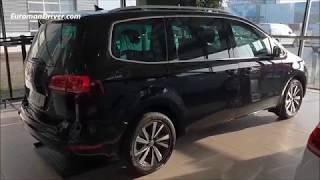 New Volkswagen Sharan 2019 Seven Seats MPV Walk-Around Review VW
