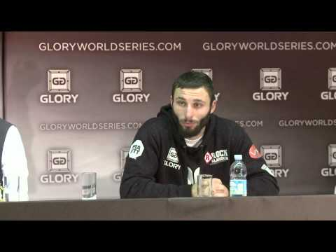 GLORY 3 ROME - Post Victory Press Conference
