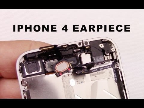 Sostituzione cassa iphone 4 4g  earpiece speaker replacement disassembly assembly