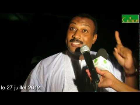 Intervention de Nourredine Sidi Ali François (UPR) à Sebkha le 27 juillet 2012