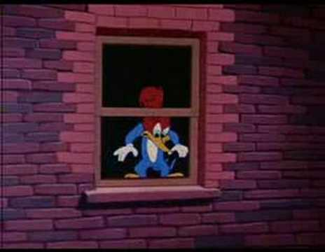 Woody Woodpecker - Under the Counter Spy Video