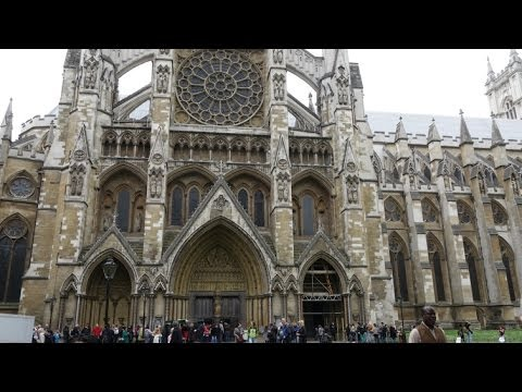 (4K)Travel to London 2014 - Westminster Abbey ウェストミンスター寺院