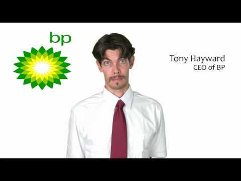 BP's Tony Hayward Makes Announcement
