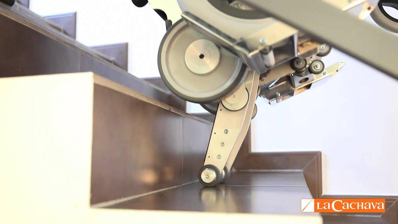 Salvaescaleras con plataformas para silla de ruedas yack for Escaleras dielectricas precios
