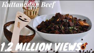 Kerala Beef Roast/Kuttanadan Beef Varattiyathu/Beef Fry   -Recipe no 128