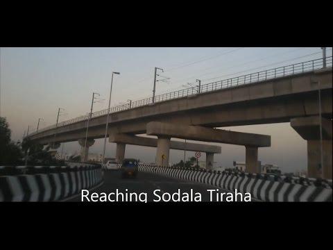 Jaipur Elevated Road bridge under Jaipur Metro train track | Elevated Road India