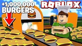 ¡¡ +1.000.000 de BURGERS CHALLENGE en ROBLOX !!