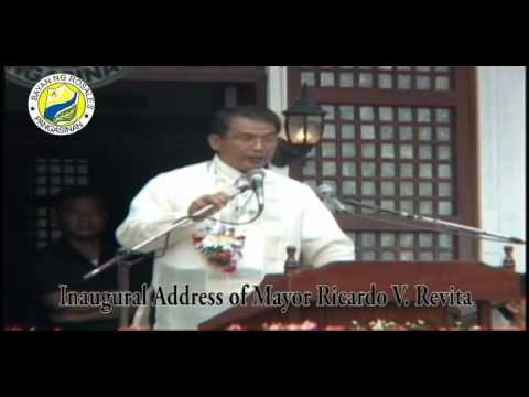Inaugural Speech of Mayor Ricardo Revita..Part 1..Rosales, Pangasinan
