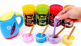 Lets Make Slime | Learn Colors for Children with Yippee Toys