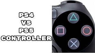 PS5 vs PS4 Controller Differences