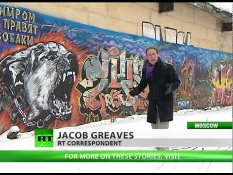 Aerosol Attack: Elusive 'Russian Banksy' explains mission