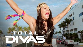 Sonya Deville Flies Her Rainbow Flag With Pride Float | Total Divas | E!