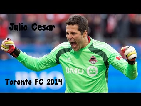 Julio Cesar  -  The Brazilian Octupus Toronto FC 2014