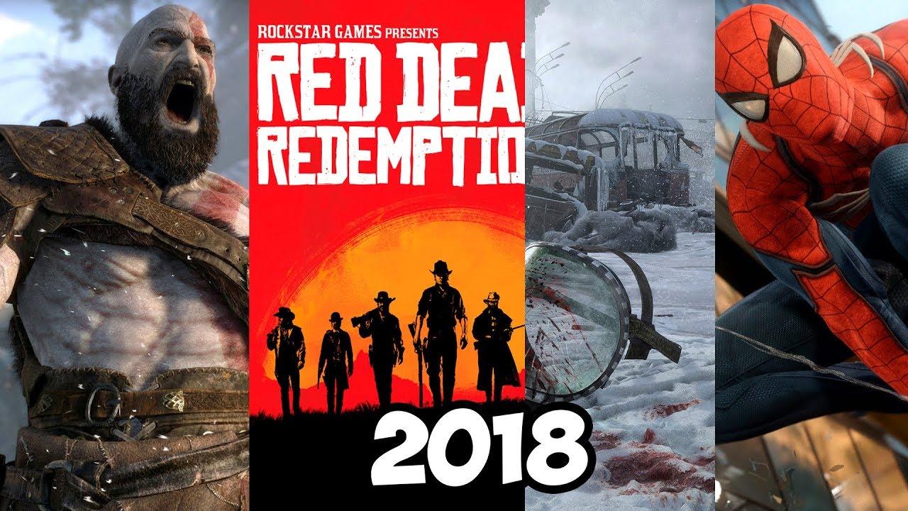 Лучшие новые игры 2018