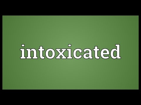 Intoxicated - Meanings