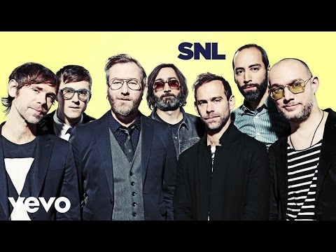 The National - I Need My Girl (Live @ SNL, 2014)