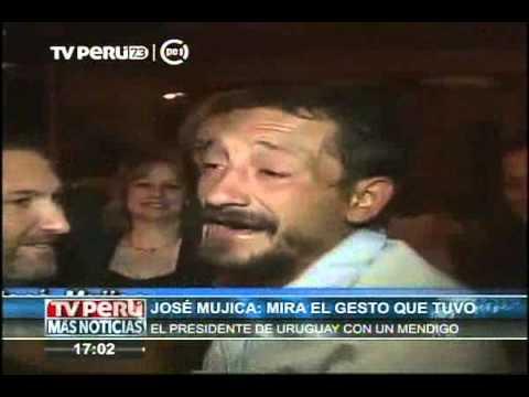 Presidente de Uruguay y el gesto que tuvo con un mendigo
