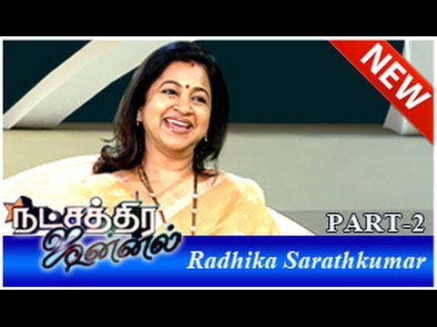 Actress Radhika Sarathkumar in Natchatira Jannal (27/07/2014) - Part 2