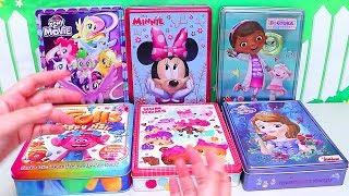 Speed Coloring Toys Num Noms Princess Sofia Minnie My Little Pony Trolls Doc McStuffins   SWTAD