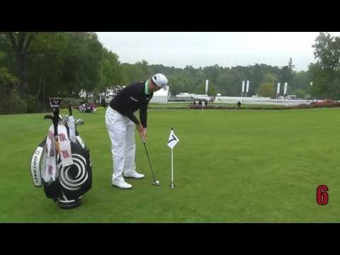 Golf Monthly Putting Challenge - Alex Noren