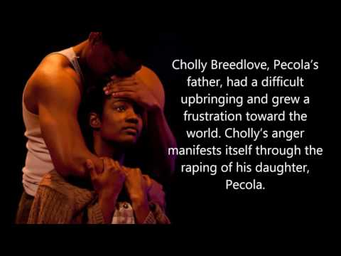 character analysis of pauline and pecola in the bluest eye by toni morrison