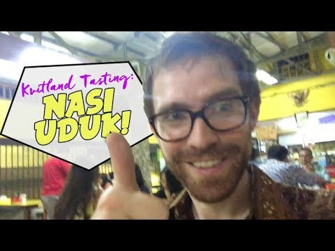 Tasting NASI UDUK for the first time, in Jakarta