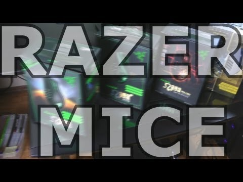 Swifty Razer Mice Overview (gameplay/commentary)