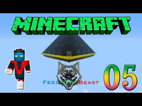 Minecraft Feed the Beast #5 - Geothermal Generator