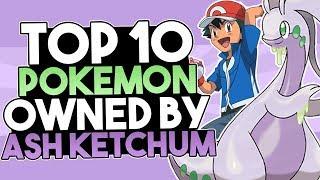Top 10 Favourite Pokemon Owned By Ash Ketchum In The Pokemon Anime (Part 1) Ft. KarlosPokemon