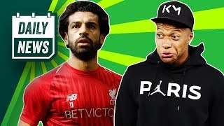 Champions League returns, Liverpool v PSG + Salah aims for the double ► Daily Football News
