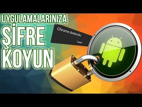 Android Telefonunuzda ?stedi?iniz Uygulamalara ?ifre Koyun: Smart App Protector