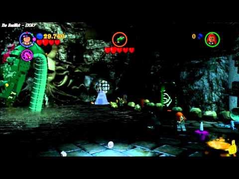 Lego Harry Potter Years 1-4:  Level 12 The Basillisk STORY - HTG