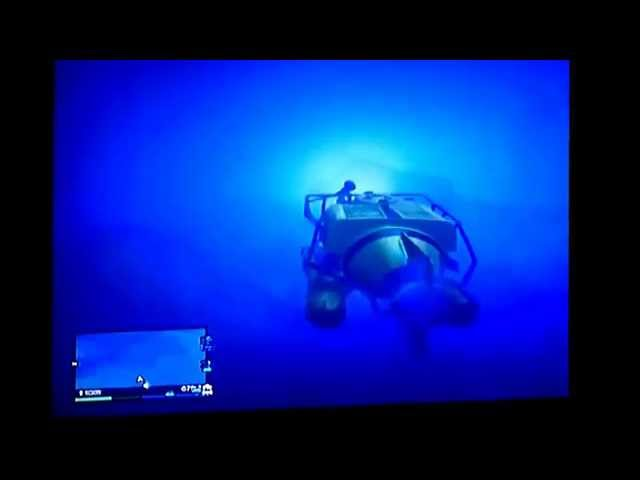Grand Theft Auto 5 - Gta 5 - Underwater UFO