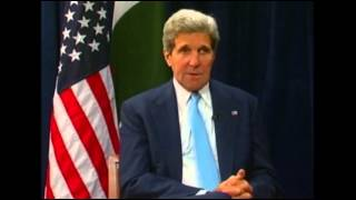 Kerry: Hopes Pakistan Drone Strikes to End Soon 8/2/13