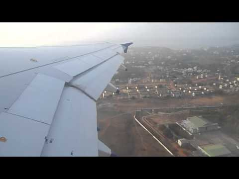 Take Off from Goa Daobolim airport