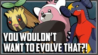 Top 10 Pokemon You'd Rather Not Evolve!