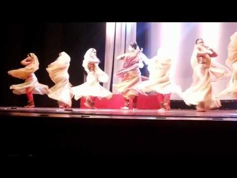 Kathak: Kahe Ched Mohe By Pandit Birju Maharaj's Students At Nazaakat 2014 video