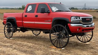 Duramax on Horse and Buggy Wheels Fails Miserably