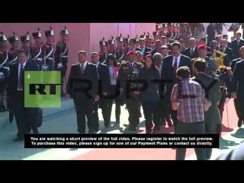 Argentina: Maduro touches down in Argentina to strengthen ties