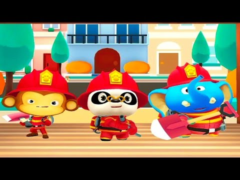 Пожарная команда Доктора Панды - Dr. Panda Firefighters