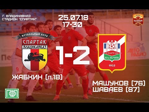 Спартак-Владикавказ - Спартак-Нальчик 1-2 |  Обзор