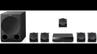 Sony HT IV300 settings