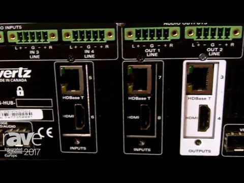 ISE 2017: Evertz AV Introduces MMA-10G HUB In-Room AV Switch