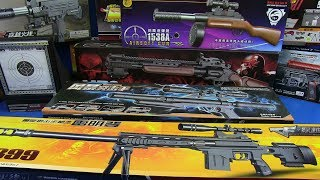 Toy Guns Realistic Sniper -Toys for Kids !! Box of Toys Sniper Rifle Military Toys