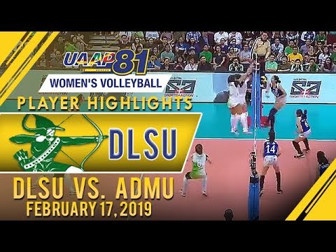 UAAP 81 WV: Desiree Cheng drops 13 points as DLSU cruises past Ateneo  February 17 2019