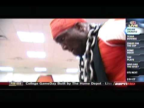Sports Center profiles Texas Longhorns DE Brian Orakpo Video