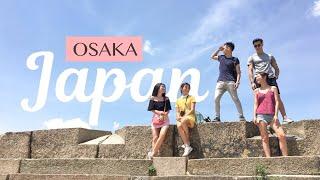 Japan travel vlog | Osaka