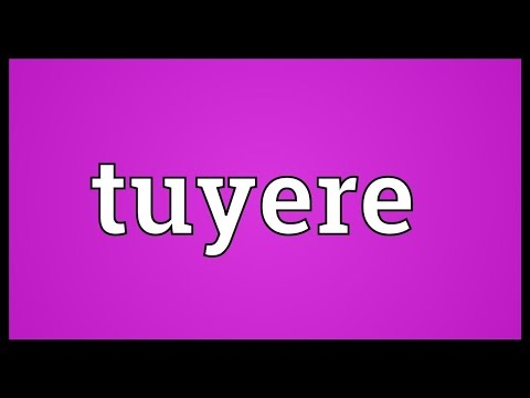 Header of tuyere