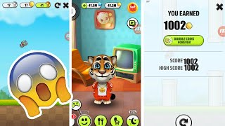 My Talking Tom - Episode 1 Gameplay Flappy Tom *WORLD RECORD* For Kids